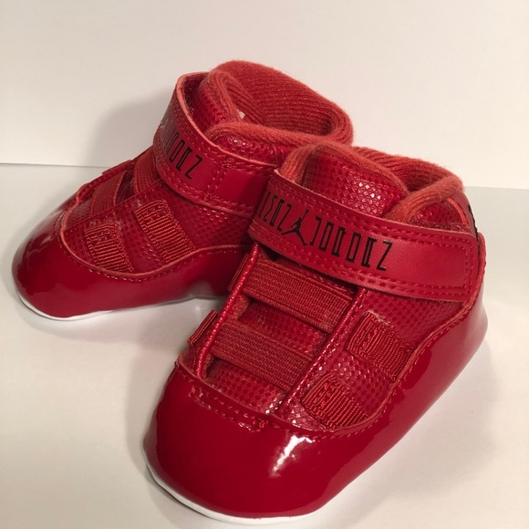 uk availability a2c99 98a97 1c Air Jordan 11 Retro ALL RED Baby Jordans